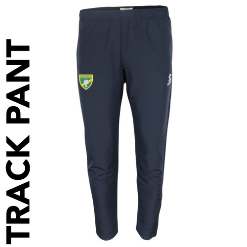 Bradfield CC track pants with club badge