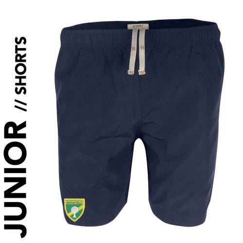 Bradfield CC Junior Shorts with club badge