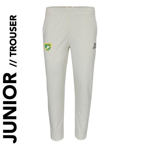 Bradfield CC Elite Junior Cricket Trouser with club badge