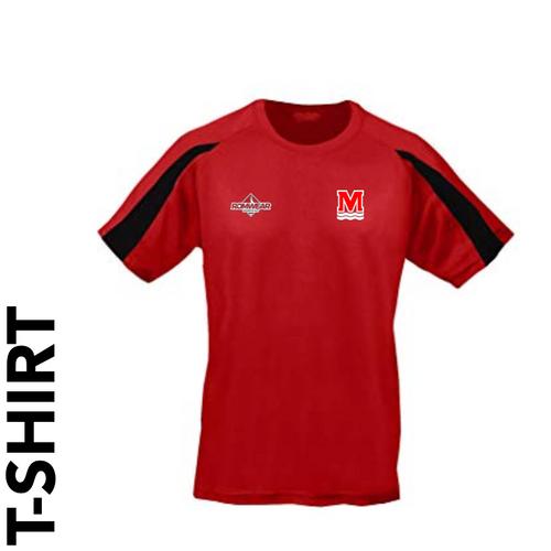 Monifieth Swim Club - T- Shirt (Red/Black)