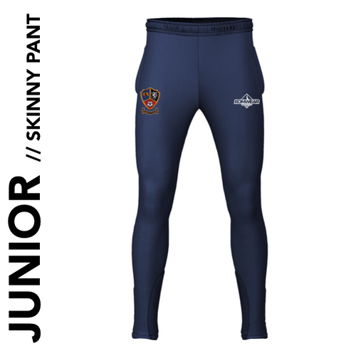 Ossett CC junior Skinny Pant with embroidered club badge
