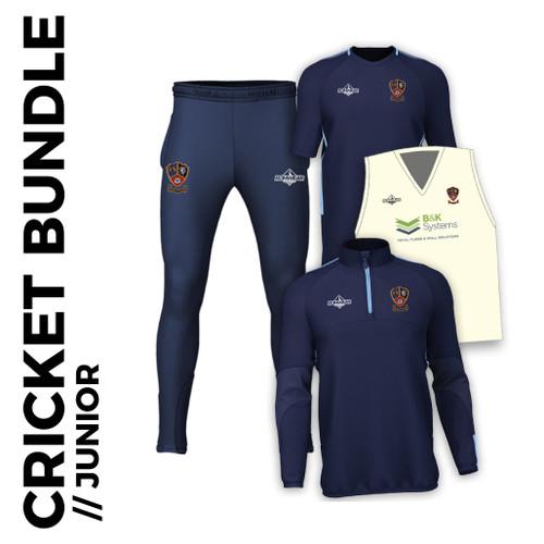Ossett CC cricket junior bundle