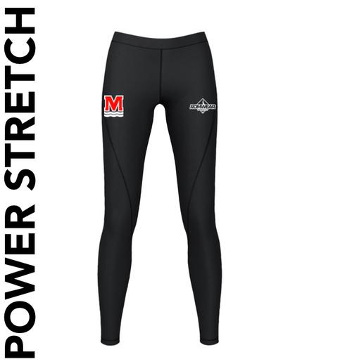 Monifieth Swim Club - Power Stretch Leggings