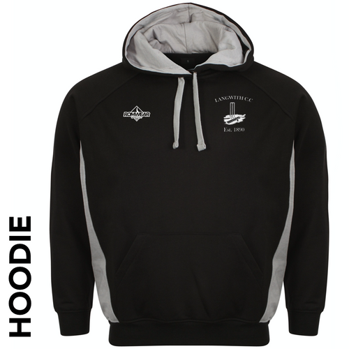 Langwith CC hoodie with club badge