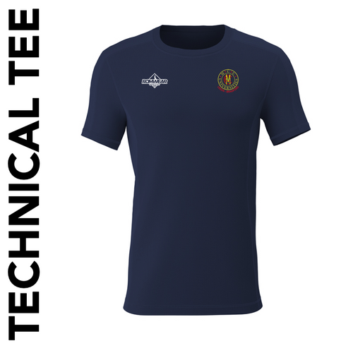Leeds Bradford MCCU Technical T-Shirt with club badge