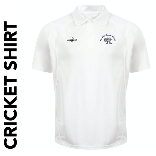 Yorkshire 50's CC cricket shirt with club badge