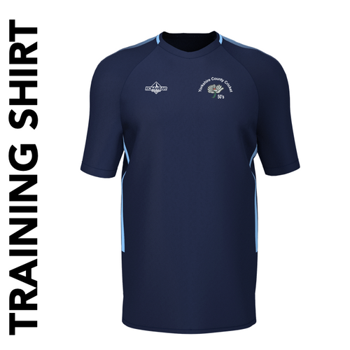 Yorkshire 50's CC - Training Shirt
