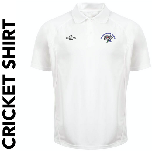 Yorkshire 60's CC Cricket Shirt with club badge