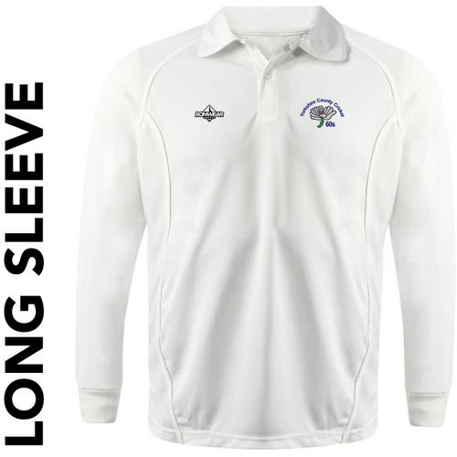 Yorkshire 60's CC - Long Sleeve Cricket Shirt
