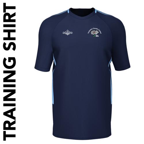 Yorkshire 60's CC training shirt with club badge