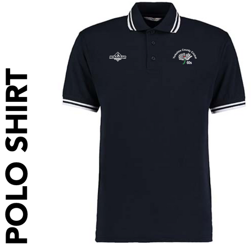 Yorkshire 60's CC Polo Shirt with club badge