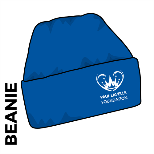 Turn up beanie, black with embroidered club crest on the front.