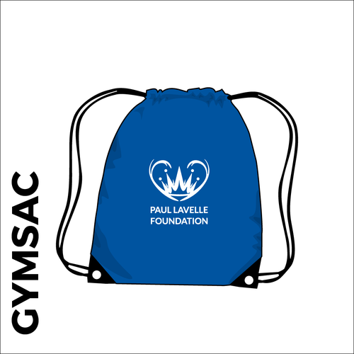 gymsac with printed club logo