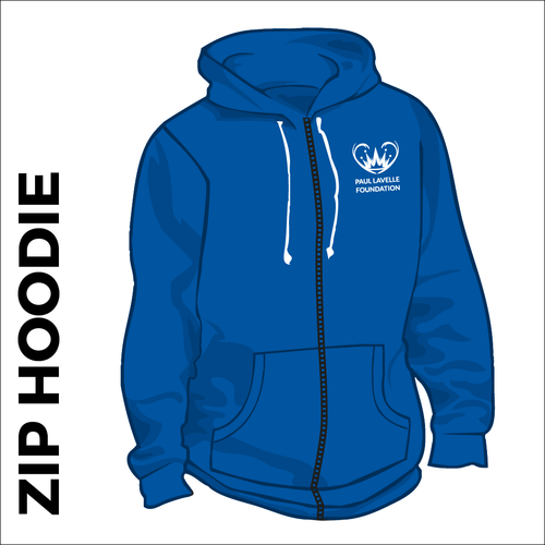 Zipped Hooded top. Cotton blend fabric for comfort with ribbed hem and cuffs. Embroidered club badge left chest