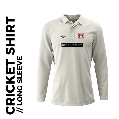 Tabs Long Sleeve Cricket Shirt