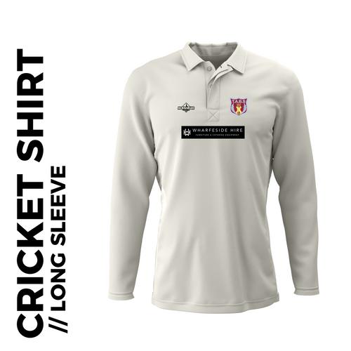 Tabs Long Sleeve Cricket Shirt