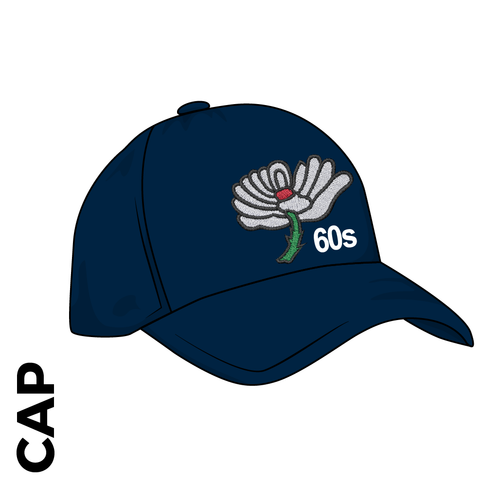 Cap Navy Blue, Club Badge Embroidered on front