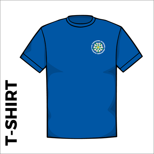 Royal T-Shirt, Cotton with embroidered chest logo