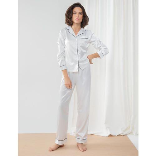 personalised satin pyjama