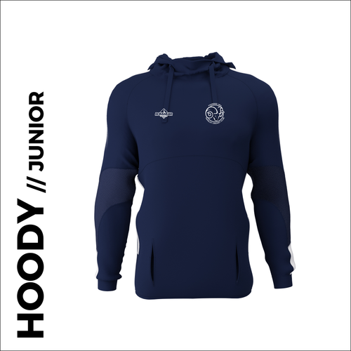 Farsley CC junior hoodie custom cricket kit with embroidered club badge