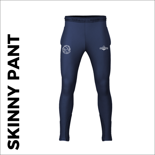 Farsley CC skinny pants custom cricket kit with embroidered club badge