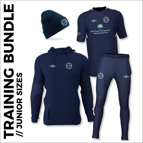 Farsley CC junior training bundle with embroidered club badges