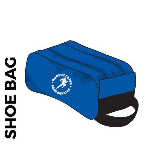Roberttown Road Runners boot bag with printed club logo