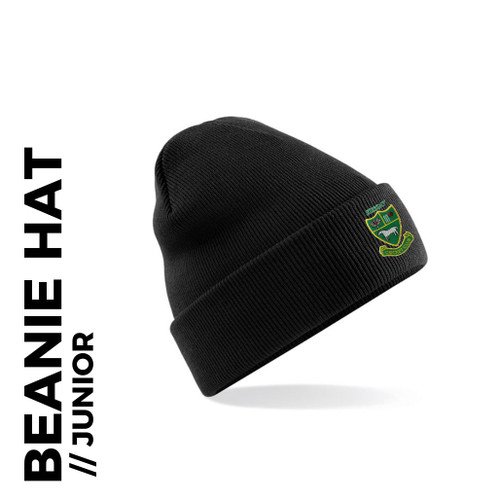 Sessay CC junior beanie with embroidered club badge