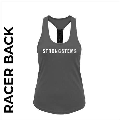 StrongStems racer back vest front