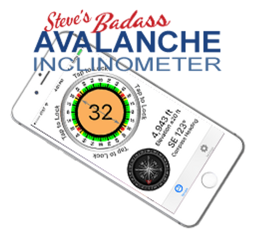 Avalanche Inclinometer (iOS and Android versions)