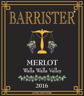 2016 Merlot, Walla Walla Valley