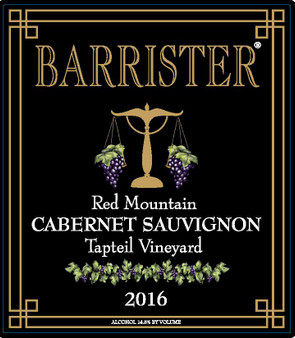 2016 Cabernet Sauvignon, Red Mountain, Tapteil Vineyard