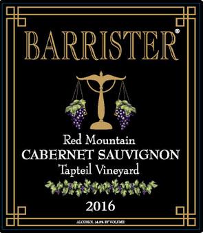 2016 Cabernet Sauvignon, Red Mountain, Tapteil Vineyard