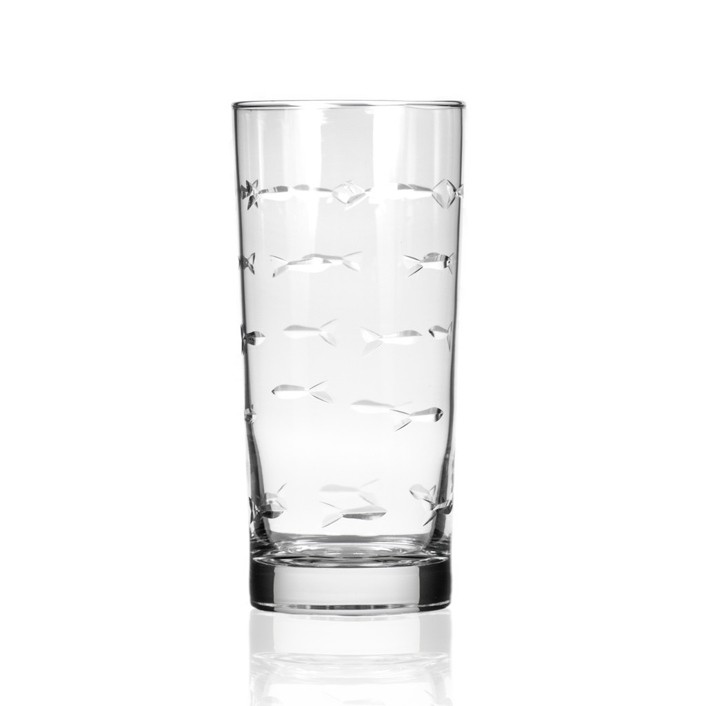 School of Fish Tall Cooler Glassware - single image