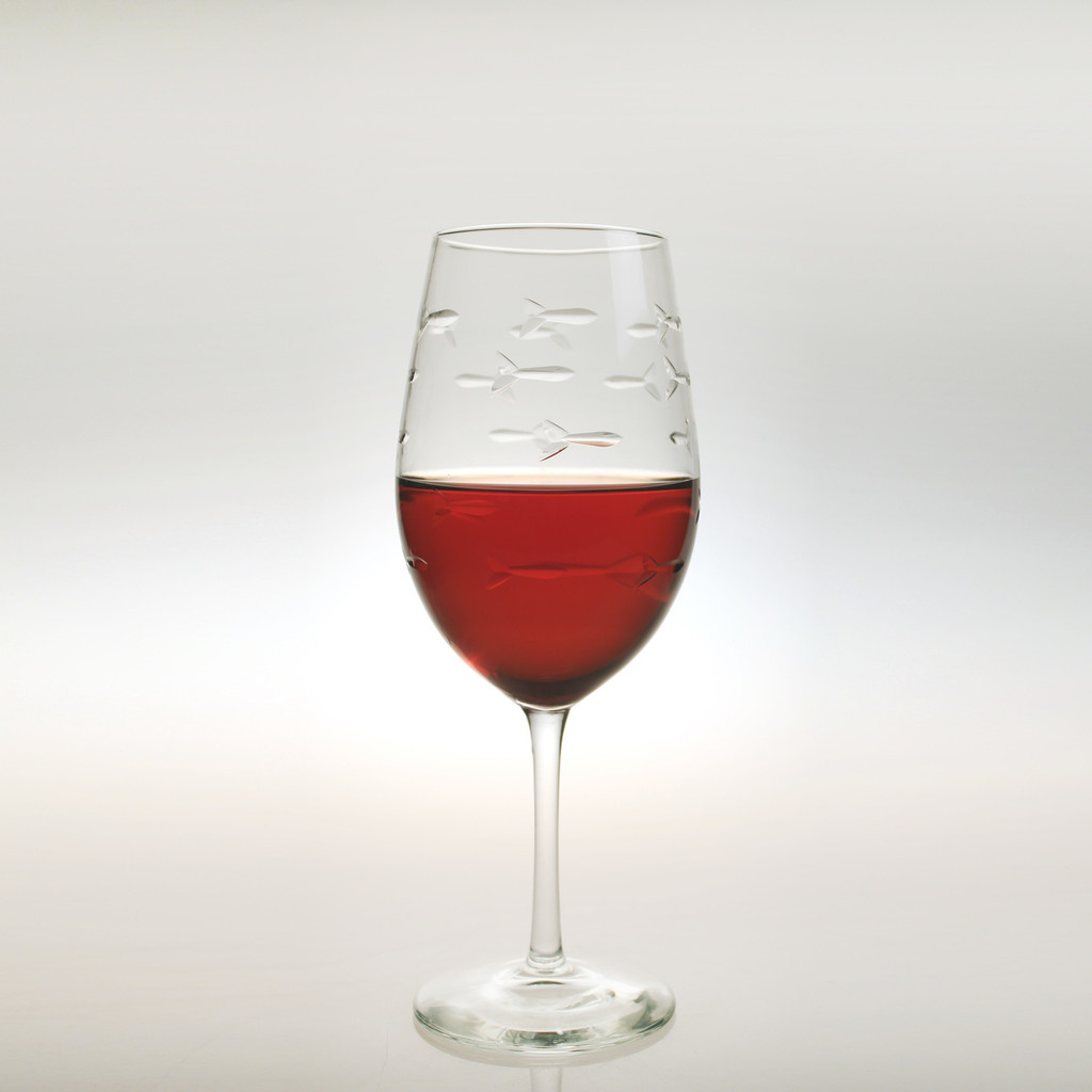 School of Fish Large Wine Goblets beauty image