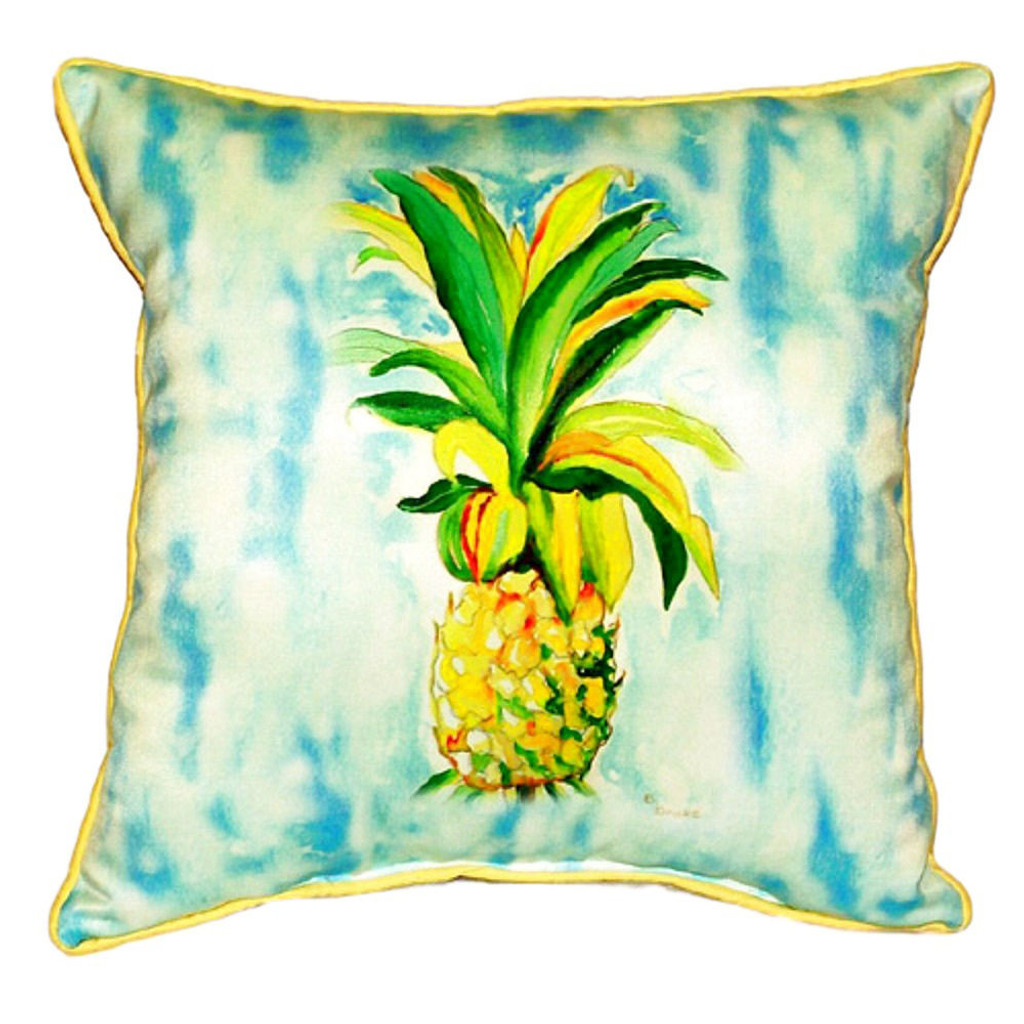 Pineapple Beach House Pillow