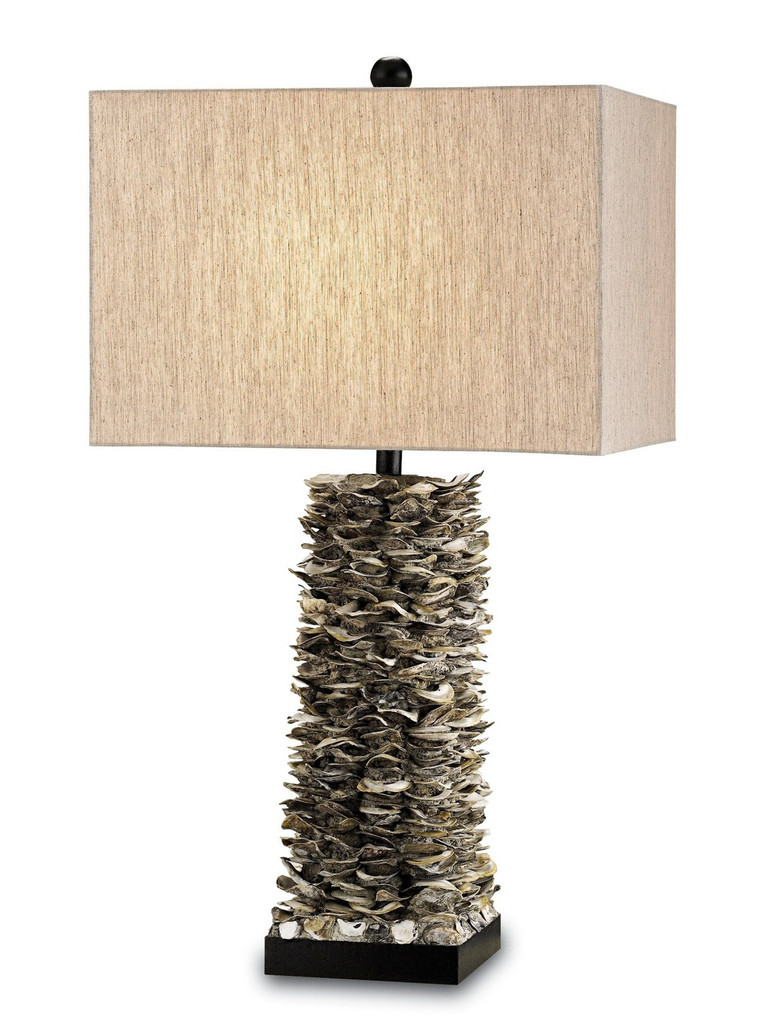 Villamare Oyster Shell Table Lamp