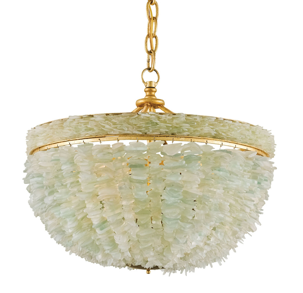 Bayou Sea Glass Chandelier view 2