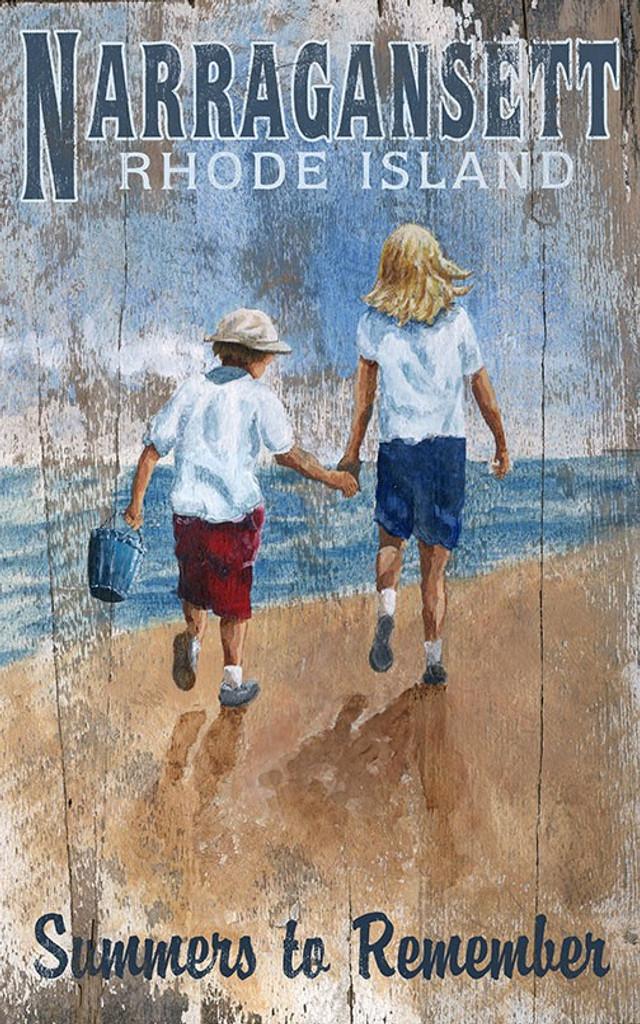 Beachcombers Art Sign