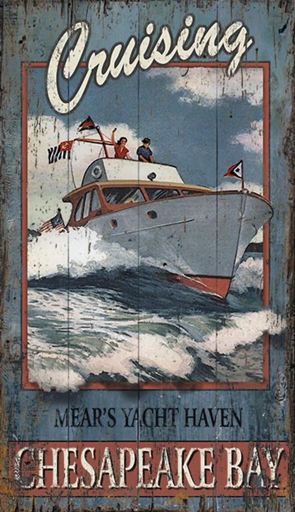 Yacht Haven Cruising Art Sign