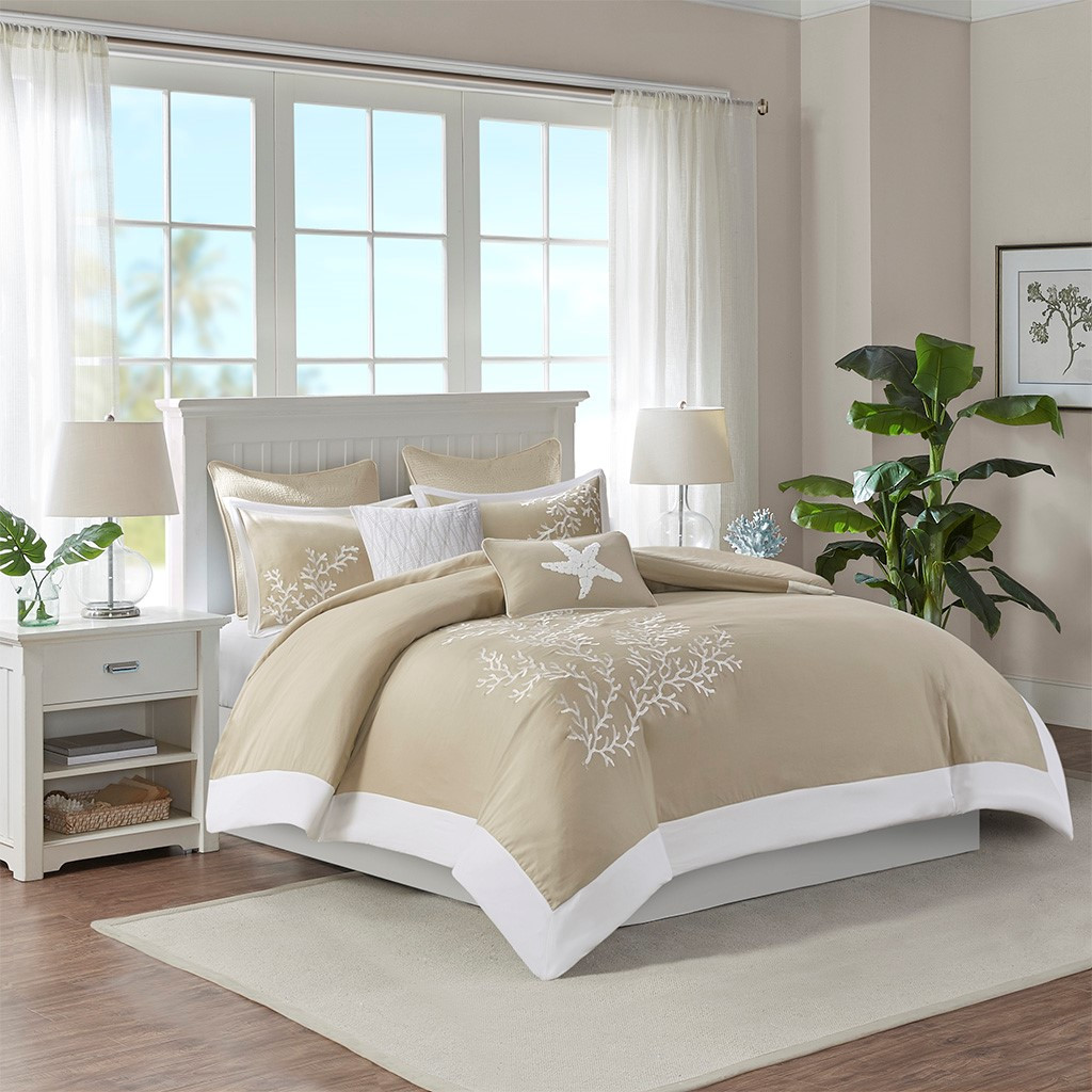Sand and Shore Duvet Collection - Queen Size view 2