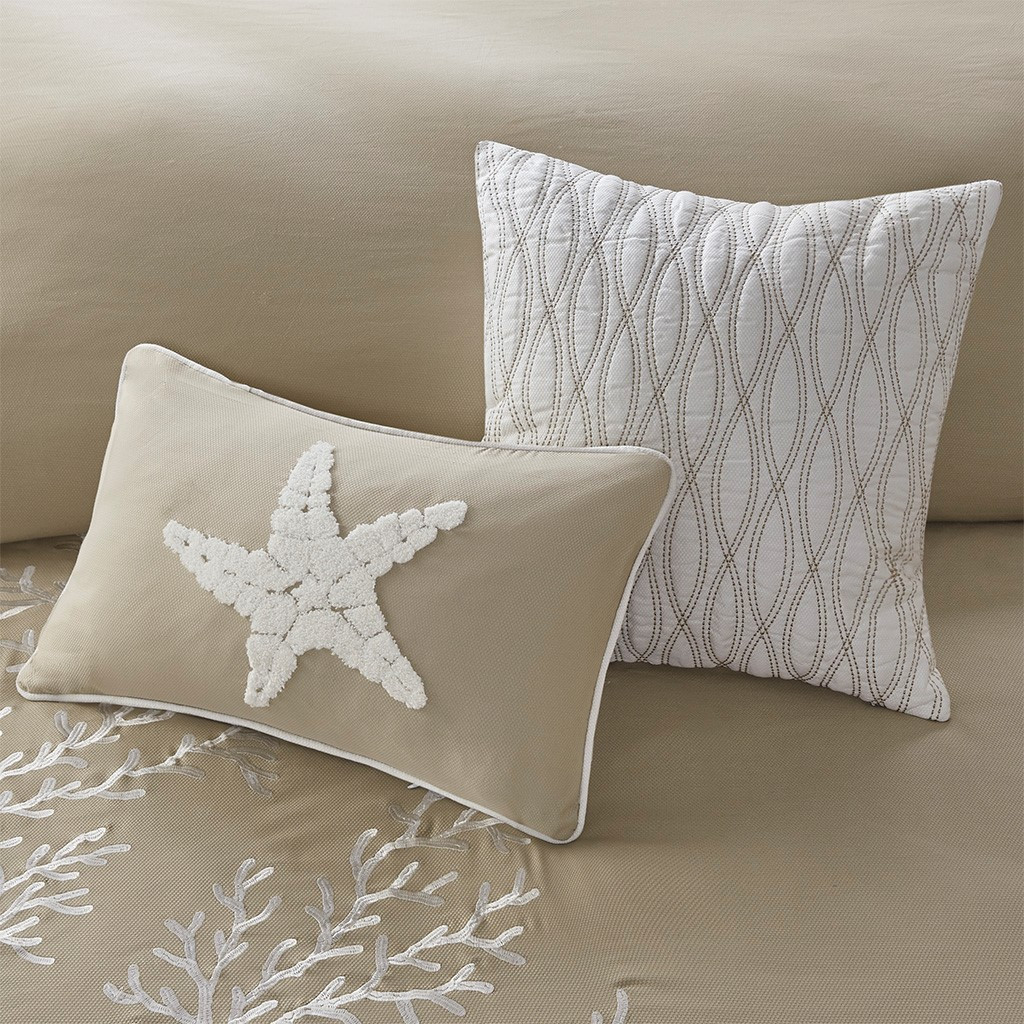 Sand and Shore Bedding Collection decorative pillows