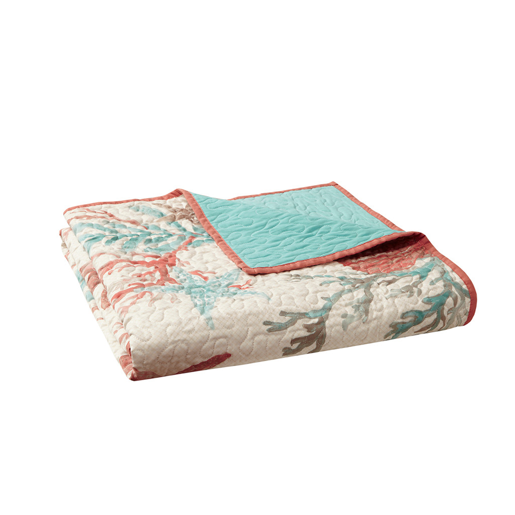 Pebble Beach Quilted Throw Blanket