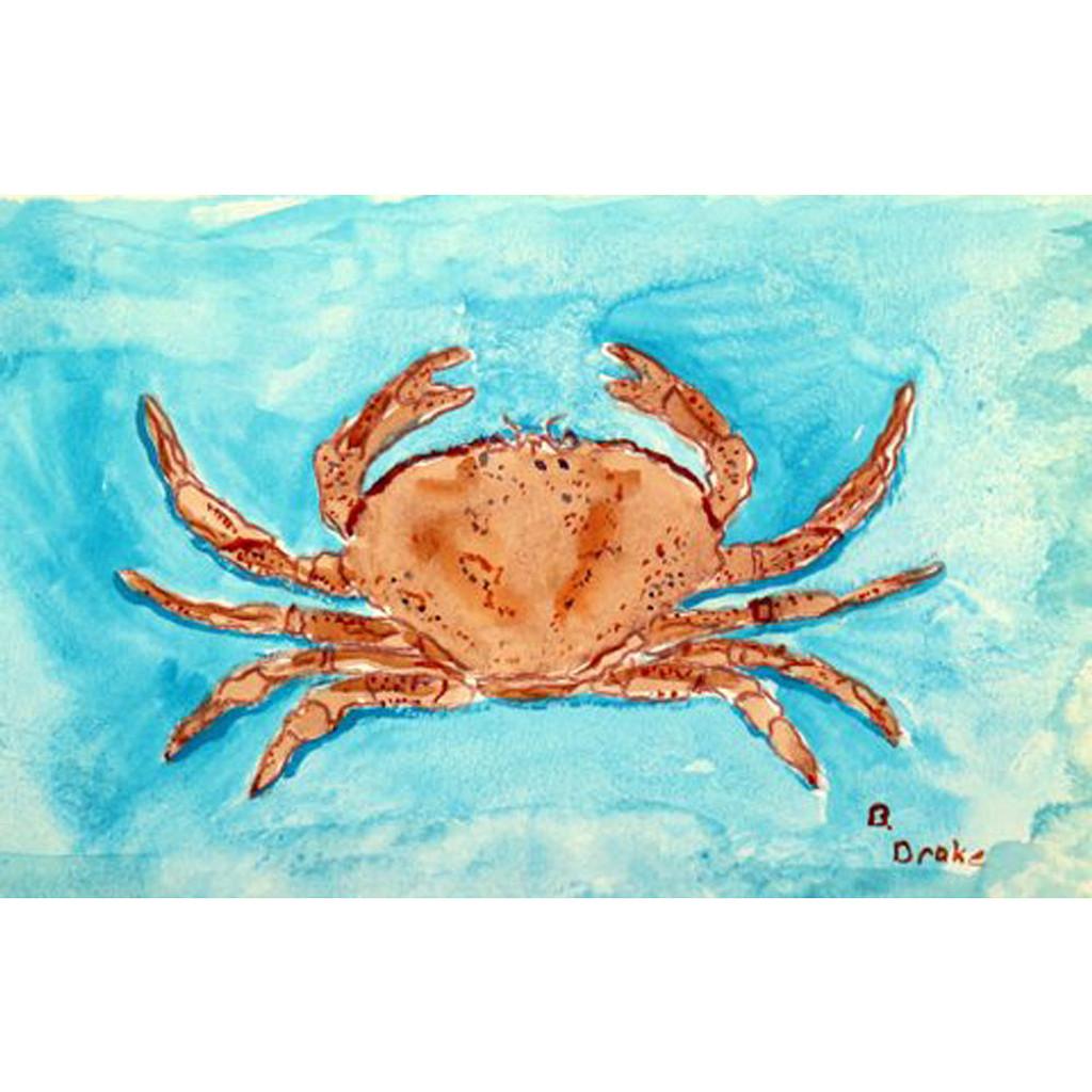 Red Crab Floor Mat
