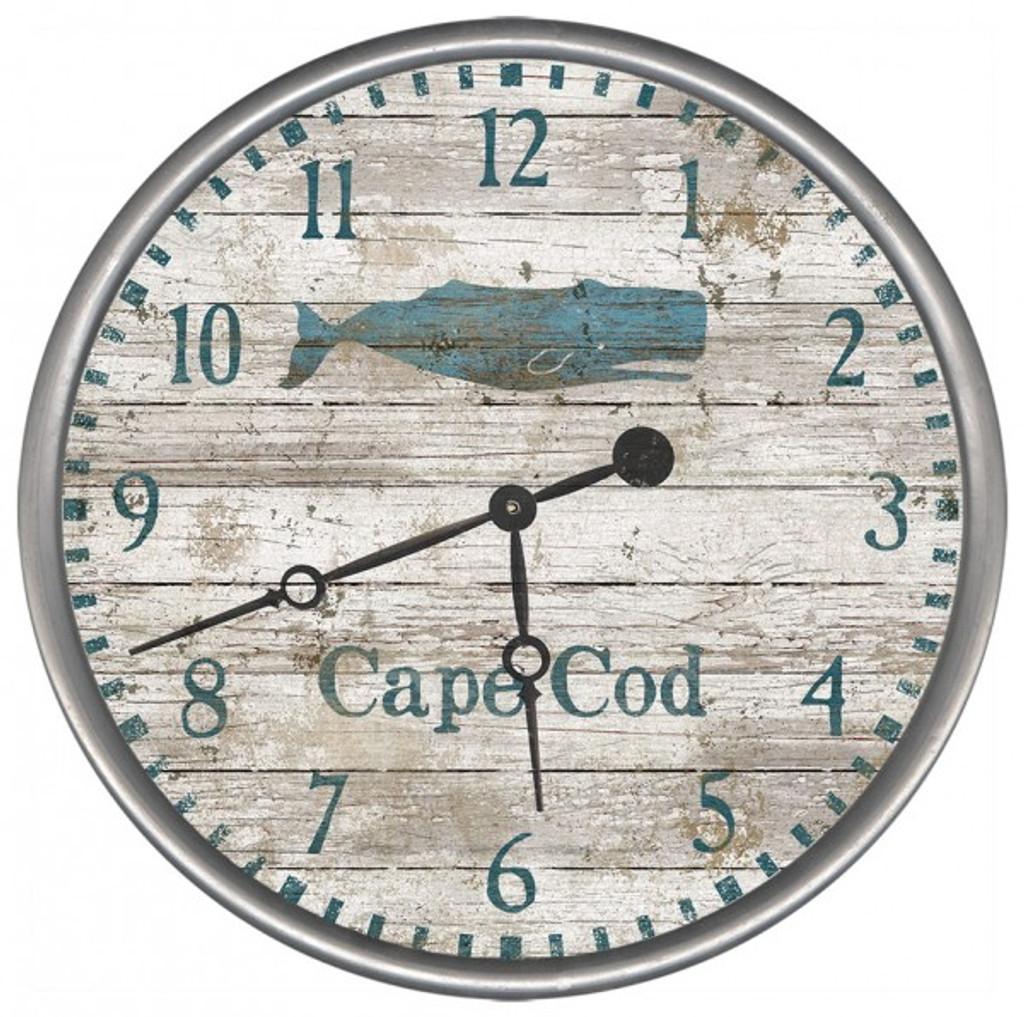 Blue Whale Clock - Custom