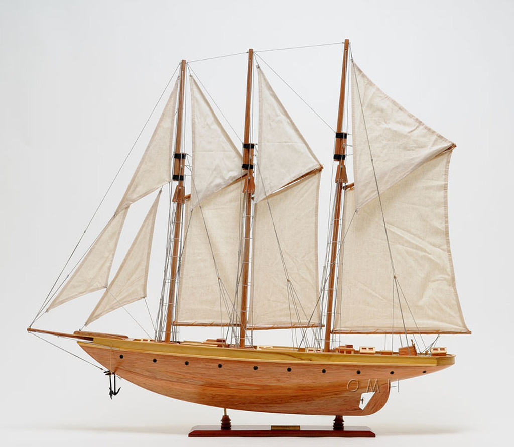 Atlantic Sailing Yacht Model
