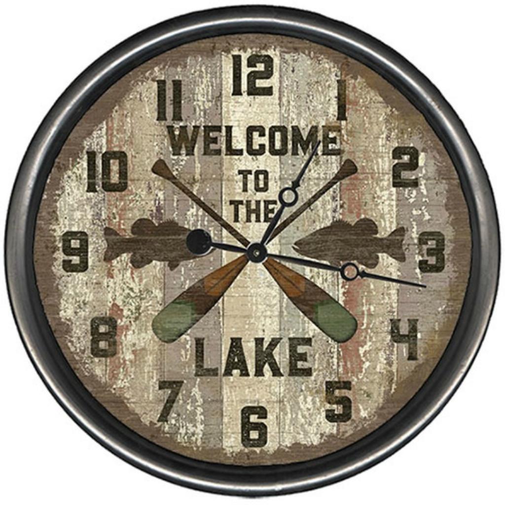 Crossed Oars Custom Clock