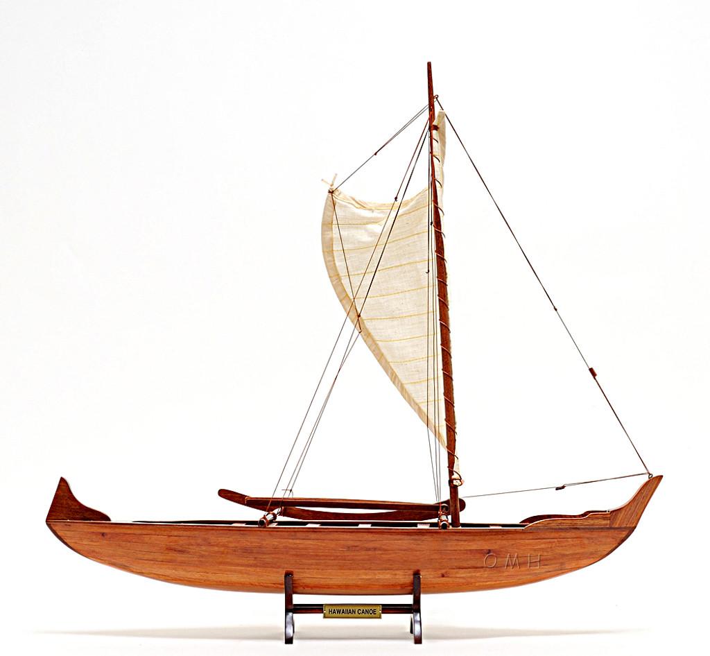 Hawaiian Canoe Detailed Model