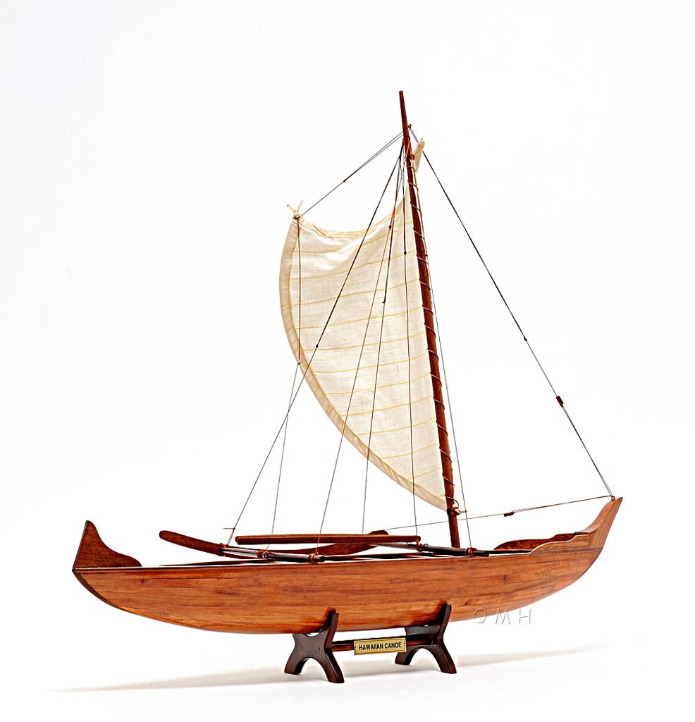 Hawaiian Canoe Detailed Model view 2