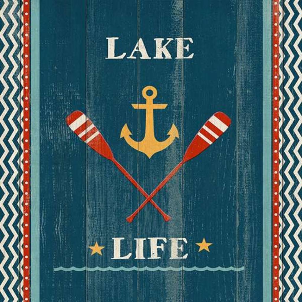 Custom Lake-Life Oar Wall Art